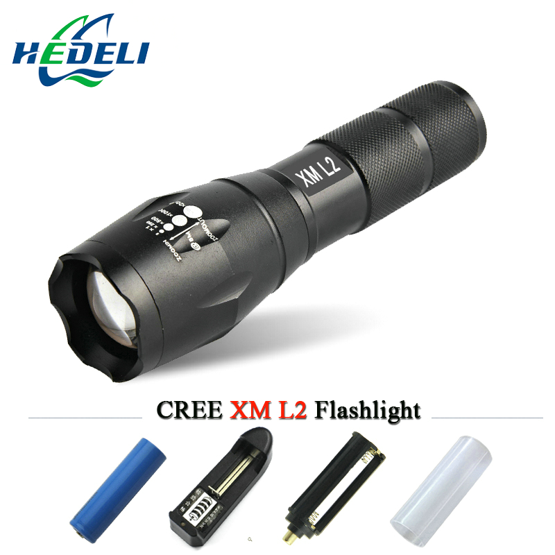 Powerful Zoomable Waterproof LED Flashlight CREE 3800LM ...